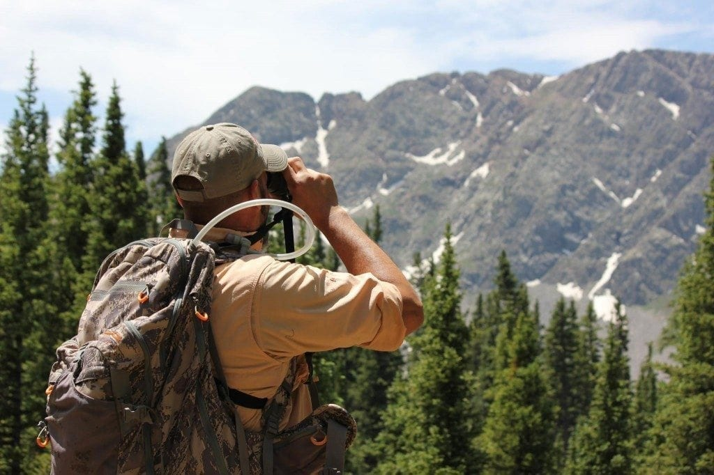 Glassing in the back country