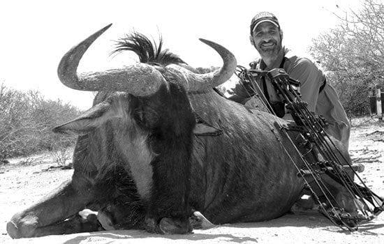 Matt with his wide Blue Wildebeest