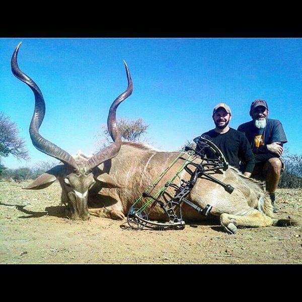 Jonathan with his Kudu