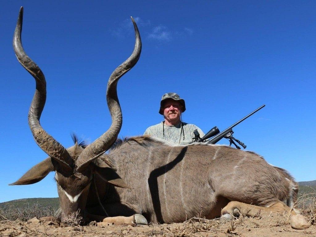 Ron with his Kudu Bull
