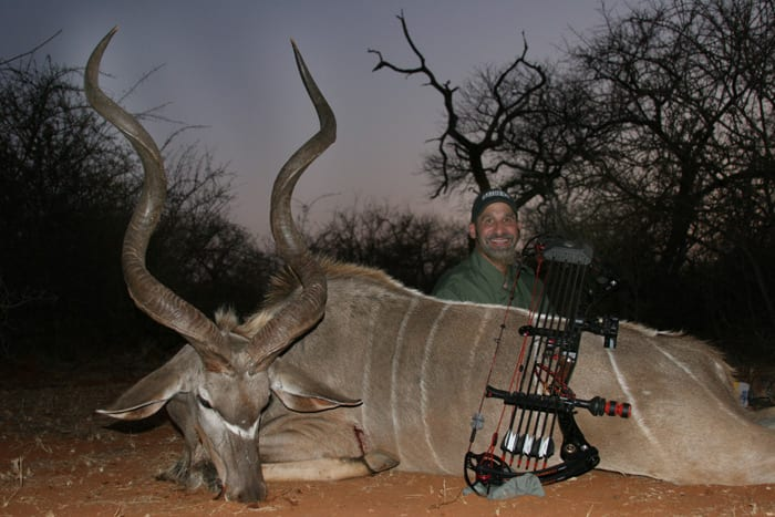 This Kudu proved to be a huge trophy.