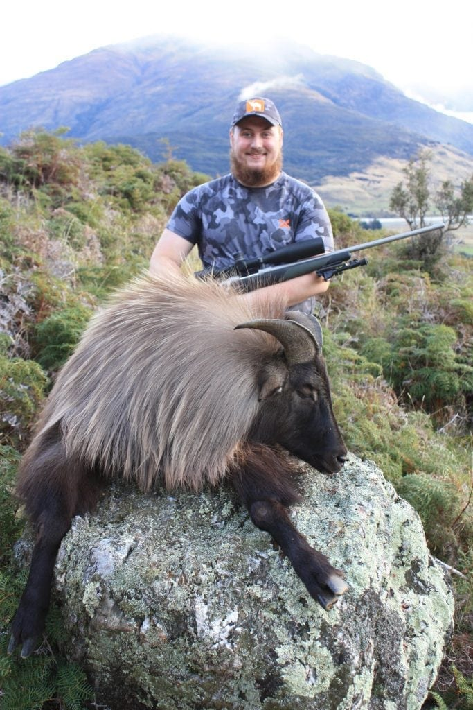 An incredible Tahr taken by Wes