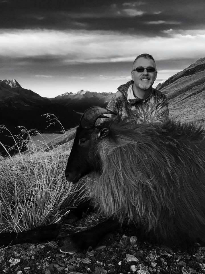 Brian with his beautiful Himalayan Tahr.
