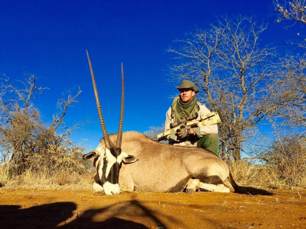 picture of Jason Gemsbok in South Africa