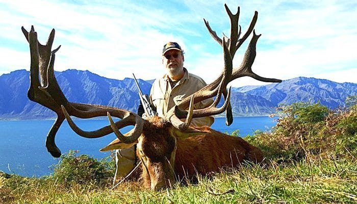 New Zealand Gold Medal Stag Husband Wife Hunt