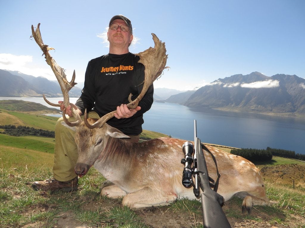 Picture of New Zealand, South Island, Fallow Deer, Rifle, Ron Shirey