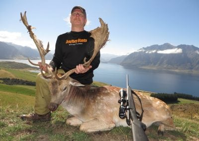 New Zealand Stag and Fallow, Husband and Wife Combination Hunt