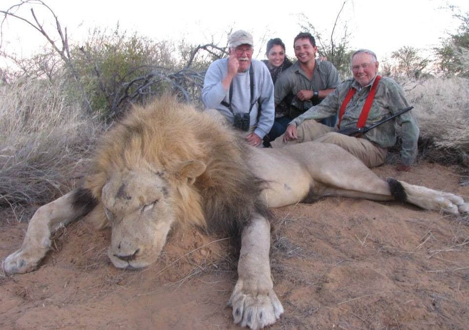 Where We Hunt, We Hunt in Africa