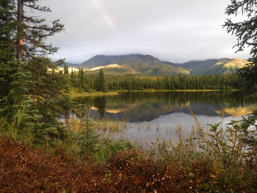 Alaskan scenery