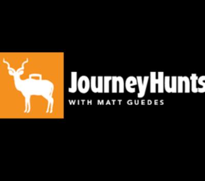 Logo for Journey Hunts 2018 Black Background