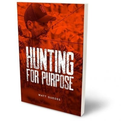 Red Cover Matt Guedes Hunting for Purpose Book